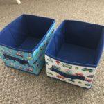 ダイソーの収納ボックスは子供のおもちゃ入れや衣装ケースにおすすめ
