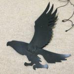 ベランダの鳩避けはダイソーの紙製疑似鷲をまずは試してみて