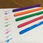 ダイソーのカラーネームペン5色セットの口コミレビュー