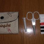 裁縫道具はダイソーで必要な物全部入ったソーイングセットがおすすめ