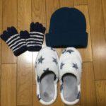 手袋ニット帽などのあったかグッズをダイソーで安く購入