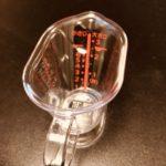 セリアのミニ計量カップは大さじ小さじもわかって便利でおすすめ